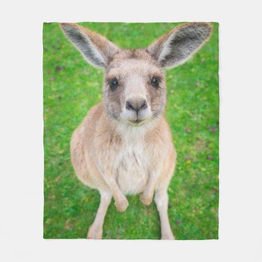 Getty Images | Baby Kangaroo Fleece Blanket