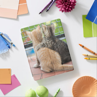 Getty Images | Two Kittens on a Balcony iPad Cover