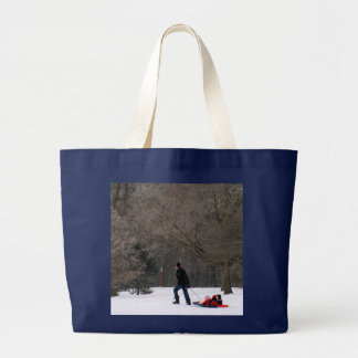 Getty-Up Daddy Large Tote Bag