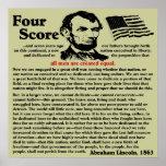 Gettysburg Address Print