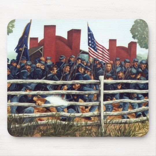 Gettysburg, Battle at the Brickyard Mousepad 3