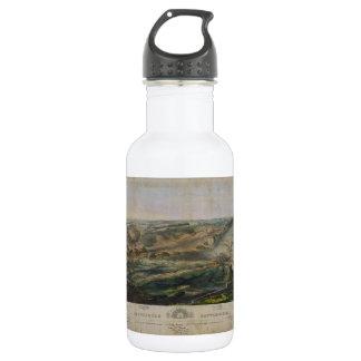 Gettysburg Battlefield by John Bachelder 1863 532 Ml Water Bottle