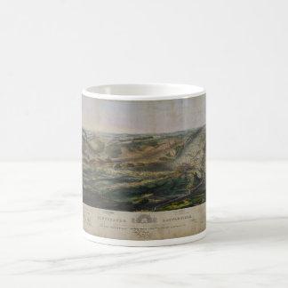 Gettysburg Battlefield by John Bachelder 1863 Coffee Mug
