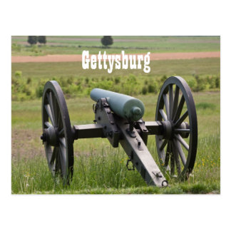 Gettysburg Cannon Postcard