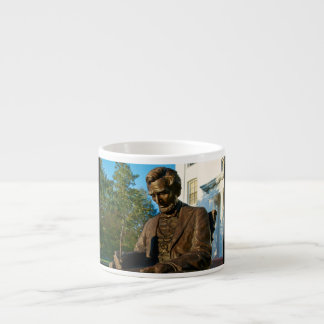 Gettysburg College - Abraham Lincoln Memorial Espresso Mug