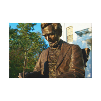 Gettysburg College - Abraham Lincoln Memorial Gallery Wrapped Canvas
