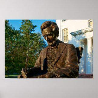 Gettysburg College - Abraham Lincoln Memorial Poster