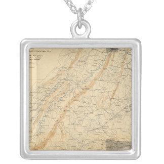 Gettysburg, Virginia Silver Plated Necklace