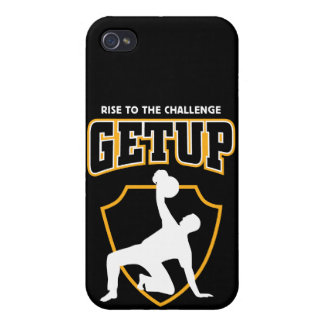 Getup Rise to the Challenge Kettlebell IPhone Case iPhone 4 Case