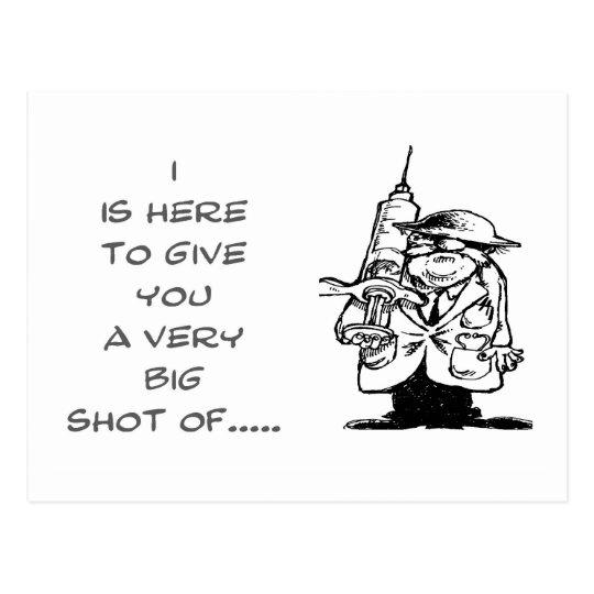 GetWell--BigShot-Postcard Postcard