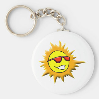 Gexter Brands Basic Round Button Key Ring