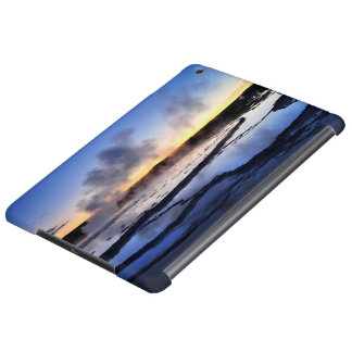 Geyser Smoke at Sunset Case For iPad Air