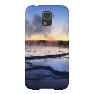 Geyser Smoke at Sunset Galaxy S5 Cover