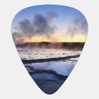 Geyser Smoke at Sunset Plectrum