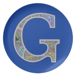 Gg Illuminated Monogram Plate