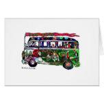 GGBR Holiday Card - Hippy Bus
