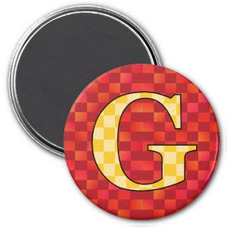 GGG 7.5 CM ROUND MAGNET
