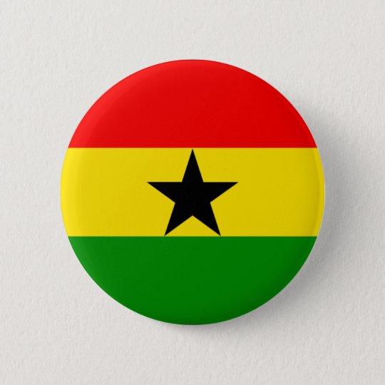 Ghana 6 Cm Round Badge