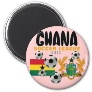 Ghana 6 Cm Round Magnet