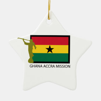 GHANA ACCRA MISSION LDS CTR CHRISTMAS ORNAMENT