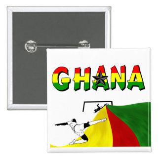 Ghana Pinback Buttons