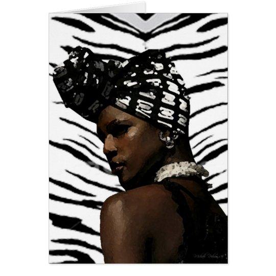Ghana Black Beauty Card
