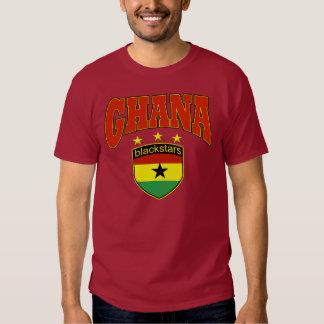 Ghana Black stars football design T-shirt