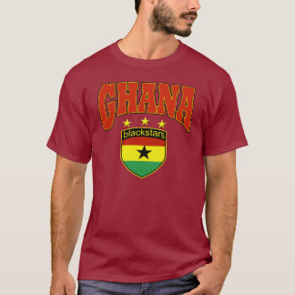 Ghana Black stars football design T-Shirt