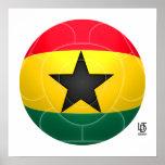 Ghana - Black Stars Football Posters