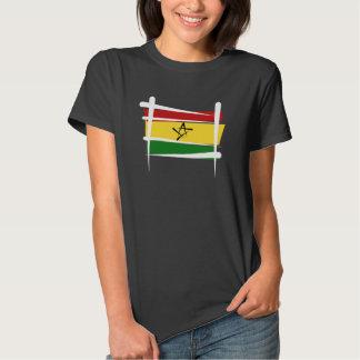 Ghana Brush Flag Shirt