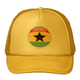 Ghana Bubble Flag Cap