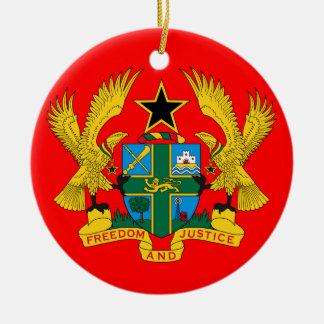 GHANA* Ceramic Christmas Ornament