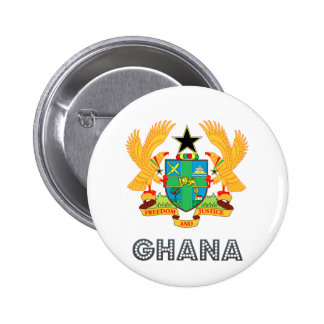 Ghana Coat of Arms Pin