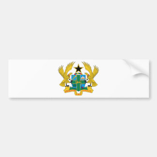 Ghana Coat of Arms Bumper Stickers