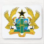 Ghana Coat of Arms Mousepads