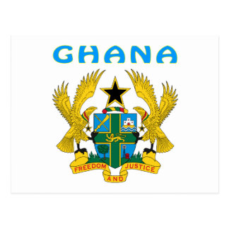 Ghana Coat Of Arms Postcards