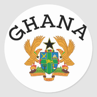 Ghana Coat of Arms sticker
