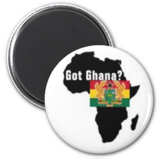 Ghana Coat of arms T-shirt And Etc 6 Cm Round Magnet