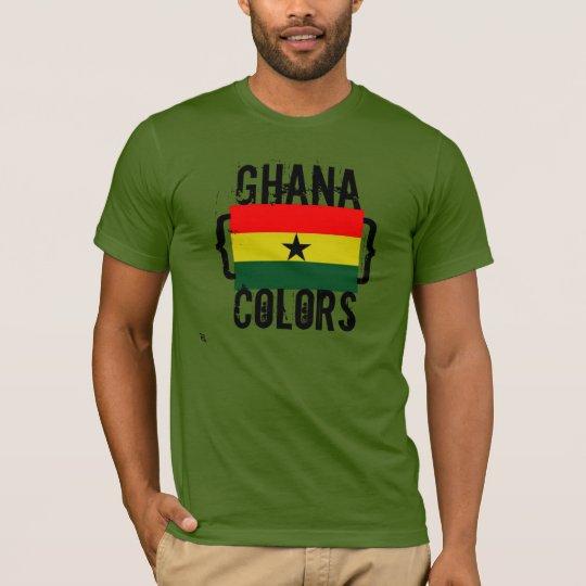 Ghana Colours T-Shirt