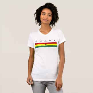 Ghana country long flag nation symbol republic T-Shirt