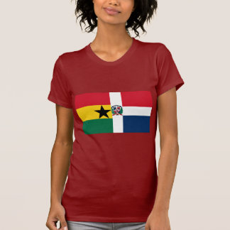 Ghana & Dominican Republic Flag T-Shirt