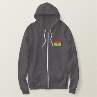 Ghana Embroidered Hoodie