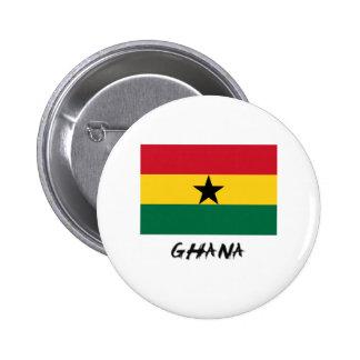 Ghana Flag Pinback Buttons