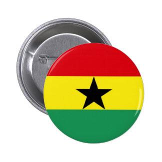 Ghana Flag Pinback Button