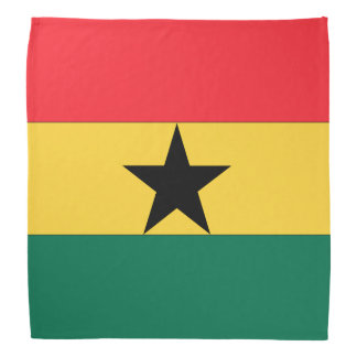 Ghana Flag Bandanas