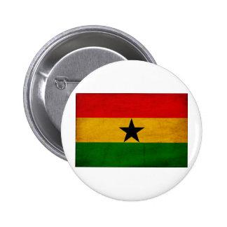 Ghana Flag Buttons