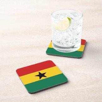 Ghana Flag Coaster