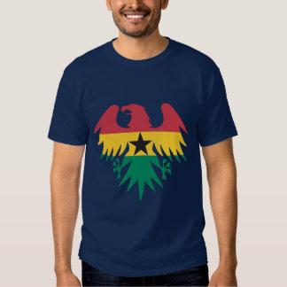 Ghana Flag Eagle T-shirts