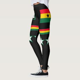 Ghana Flag Leggings