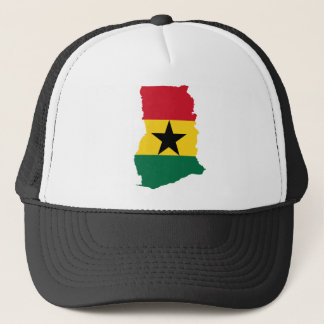 Ghana Flag Map GH Trucker Hat